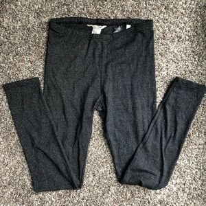 H&M | Black and Silver Sparkle Legging - 8-9Y